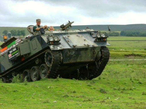 Tank Driving Experience Newcastle